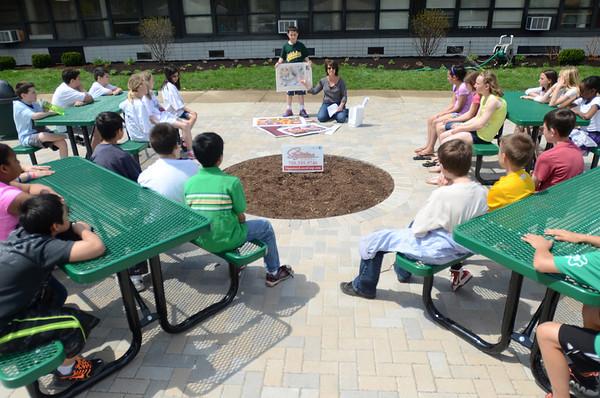 Outdoor classroom at Jackson
