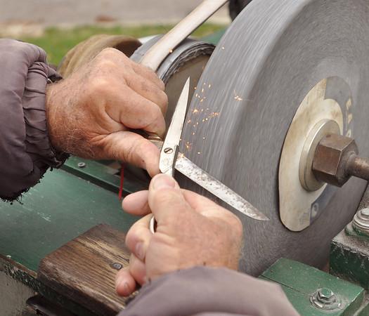 Blade grinder is a sign of spring