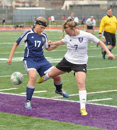 Downers Grove North at Lemont soccer