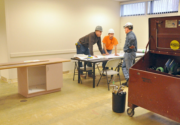Downers Grove Library renovations begin