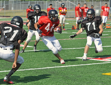 Glenbard East football practice