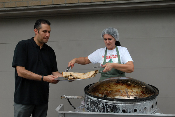 Prep for Taste of Lebanon