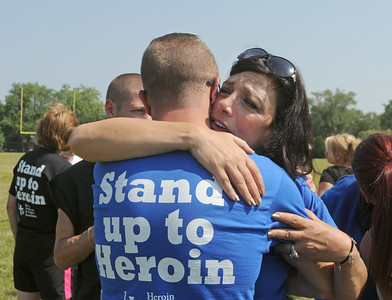 LTM heroin awareness walk
