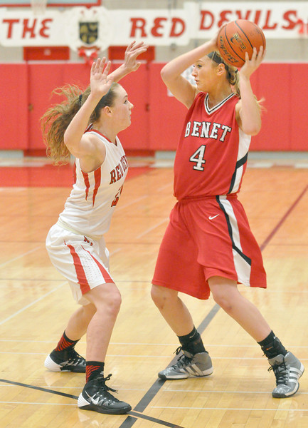 Benet at Hins Central girls basketball
