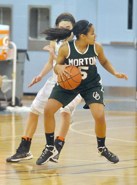 Morton at Willowbrook girls basketball