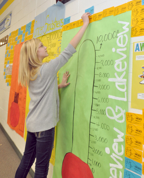 Dist.60 students out to smash cancer