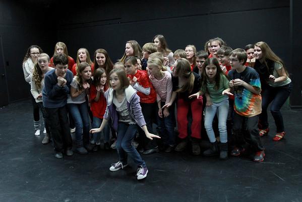Rising Star Theaterworks rehearsal