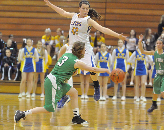 York at LT girls basketball