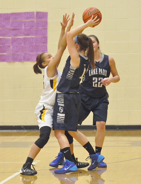 Lake Park at Glenbard North girls basketball