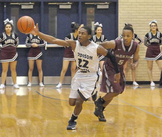 Morton at Addison Trail boys basketball