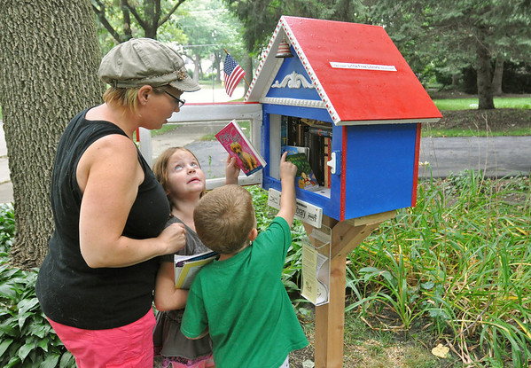 Downers Grove's 1st Little Free Library