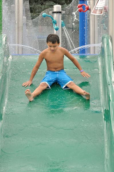 Oak Brook's new Splash Island