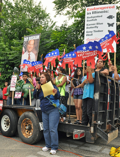 West Chicago Immigration Rally