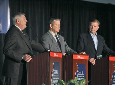 GOP Governor debate in Lisle