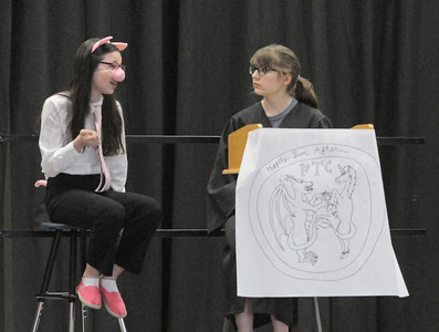 "Clarendon Hills students tell ""Big Bad"" tale"