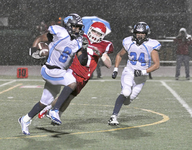 Downers Grove South at Naperville Central football