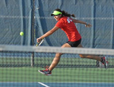 Hinsdale Central at Lyons Township girls tennis